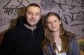 Водещият Васко Катинчаров и Anna Murphy - Cellar Darling