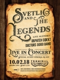 Концерт на Svetlio & The Legends в Терминал 1