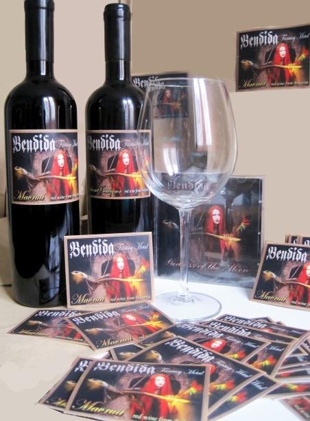 Фентъзи метъл вино Бендида