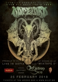 Концерт на Dopelord и Obsidian Sea