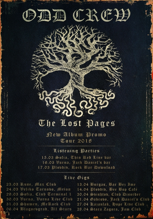 Odd Crew - The Lost Pages tour