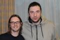 Водещият Васко Катинчаров и Steven Wilson - Porcupine Tree