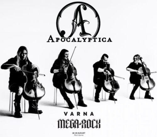 Apocalyptica на фестивала Варна Мега Рок