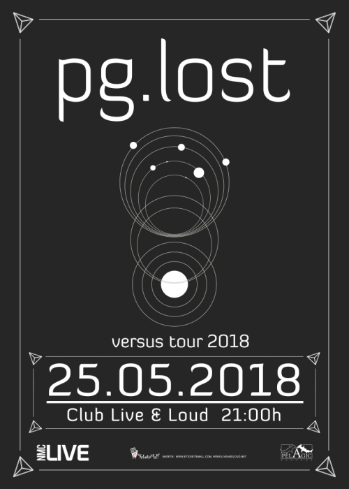 Концерт на pg.lost в клуб Live & Loud в София