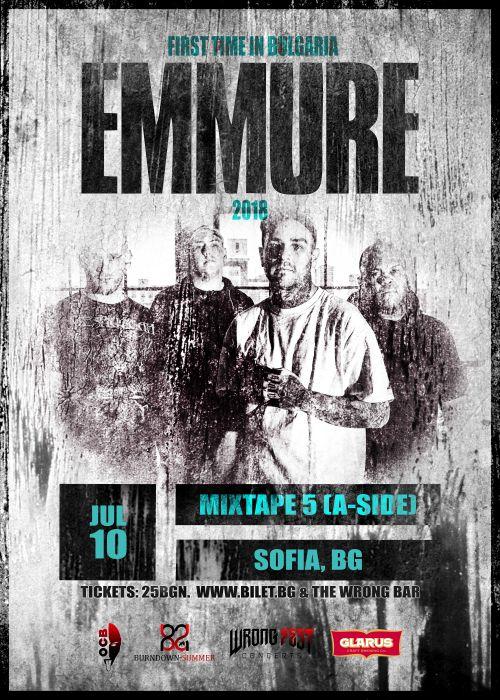 Концерт на Emmure в София