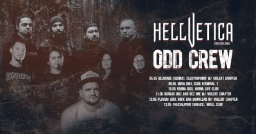 Odd Crew and Hellvetica Tour