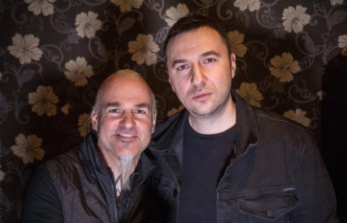 Водещият Васко Катинчаров и Vorph - Samael