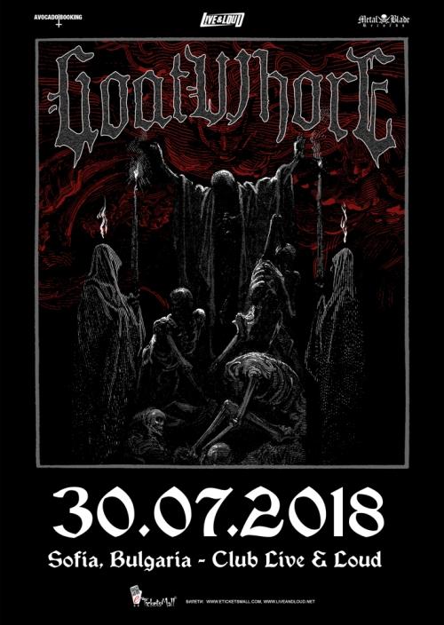 Goatwhore с концерт в София