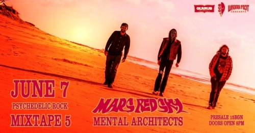 Концерт на Mars Red Sky и Mental Architects в София