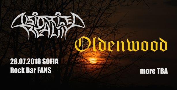 Концерт на Distorted Reality и Oldenwood в София
