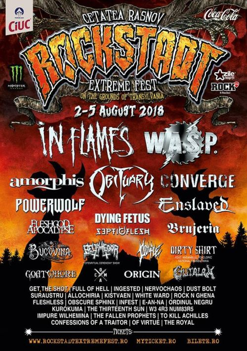 Rockstadt Extreme Fest 2018