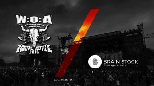 Brain Stock Footage Houseе спонсор на световните финали на Metal Battle