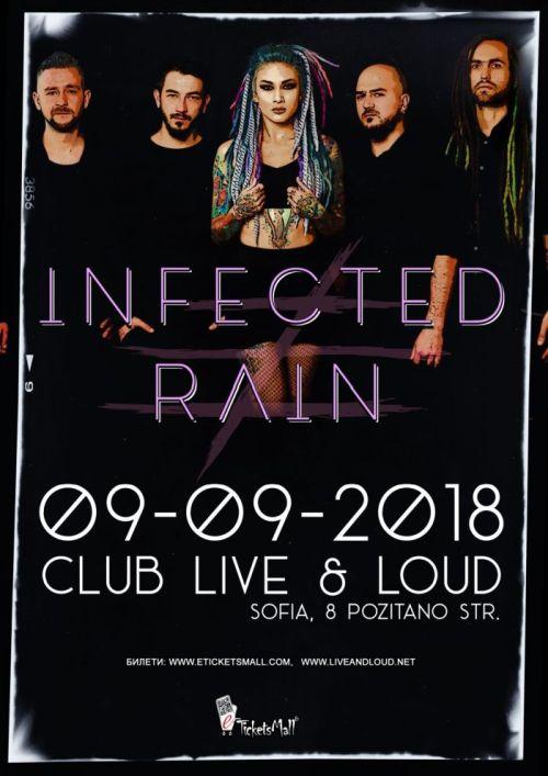 Концерт на Infected Rain в София