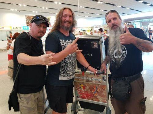 Paul Speckman и Master пристигнаха в Бургас