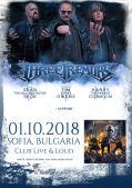 Концерт на The Three Tremors в София