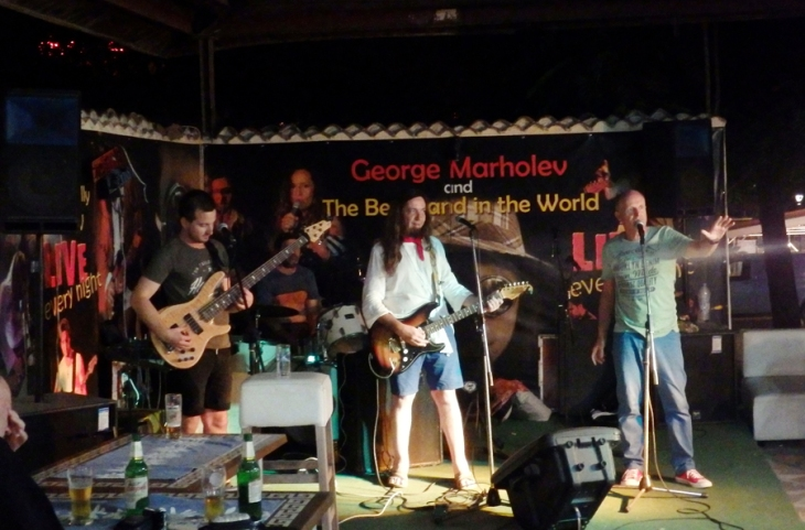 George Marholev and The Best Band in the World