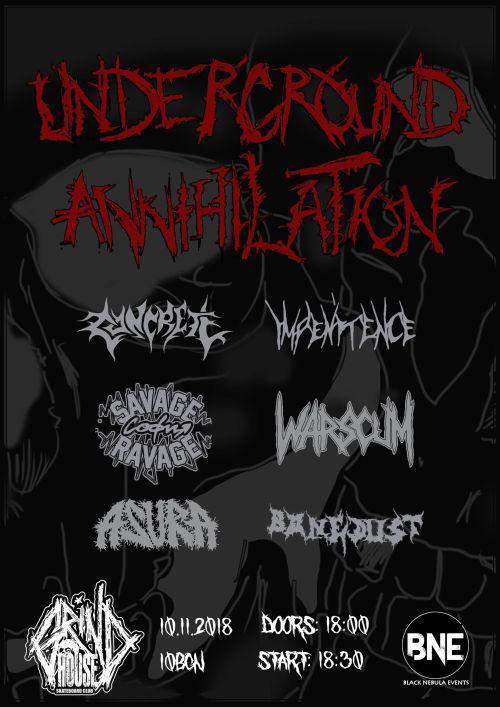 Underground Annihilation 2018