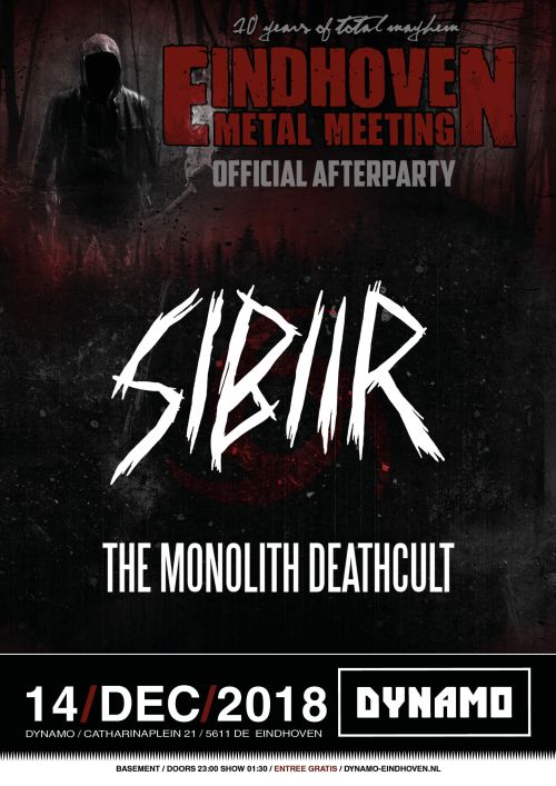 Eindhoven Metal Meeting 2018 Afterparty