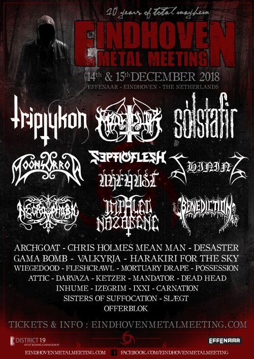 Eindhoven Metal Meeting 2018
