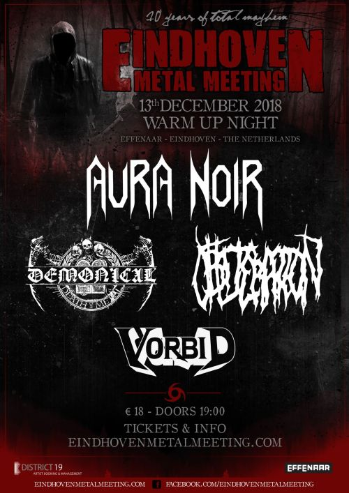 Eindhoven Metal Meeting 2018 Warm Up Party