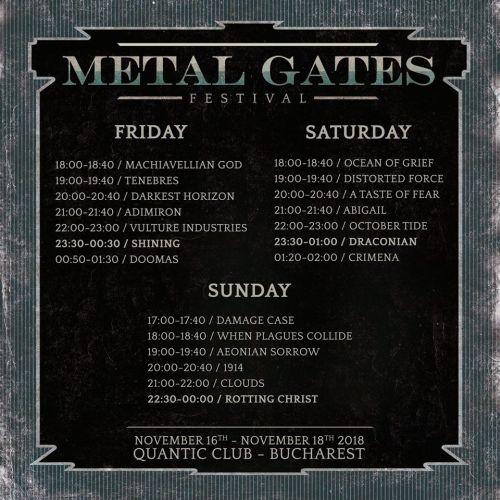 Metal Gates Festival 2018