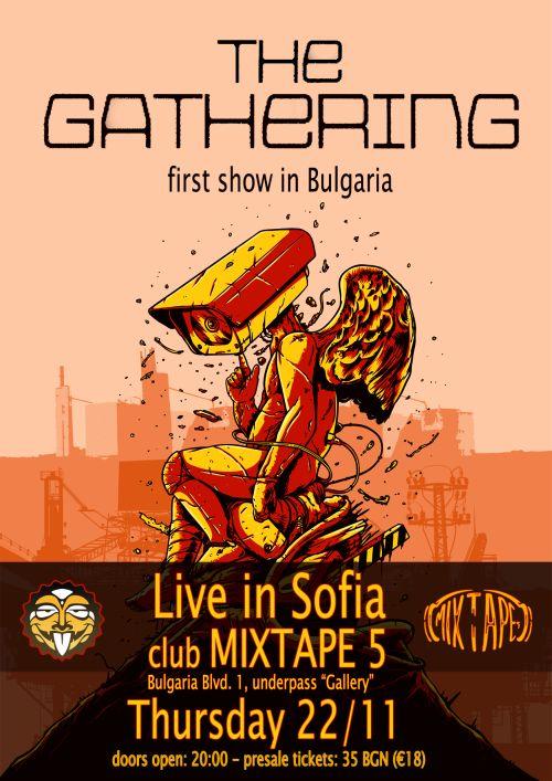 Концерт на The Gathering в София