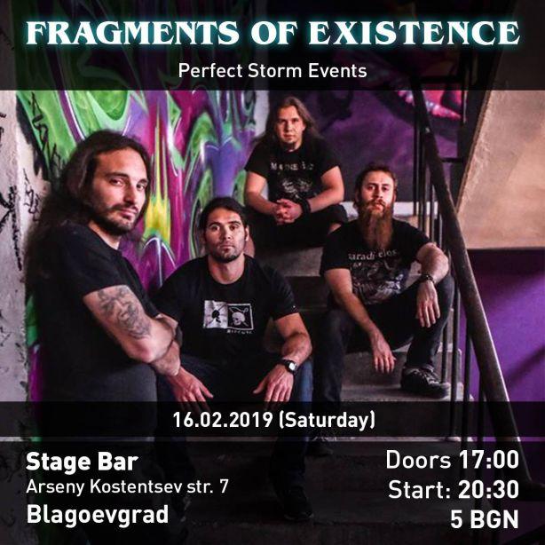 Концерт на Fragments of Existence в Благоевград