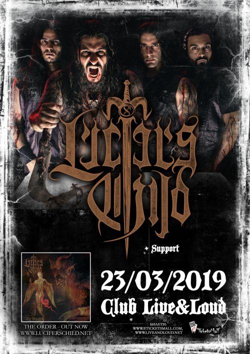Концерт на Lucifer's Child в София