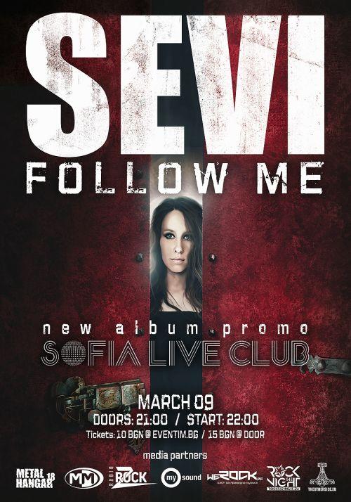 Концерт на Sevi в Sofia Live Club