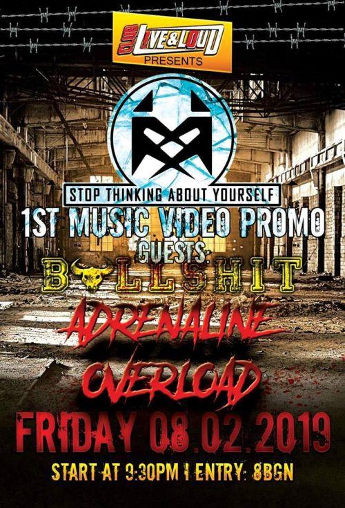 Концерт на Stay, Adrenaline Overload и Bullshit