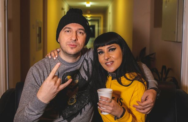 Васко Катинчаров и Татяна - Jinjer