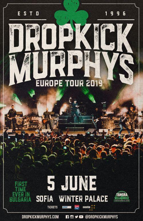Концерт на Dropkick Murpys в София