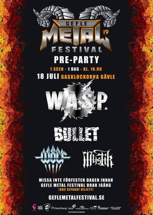 Gefle Metal Fest 2019 Preparty