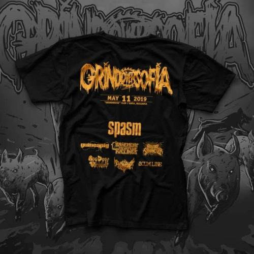 Grind Over Sofia 2019 T-Shirt