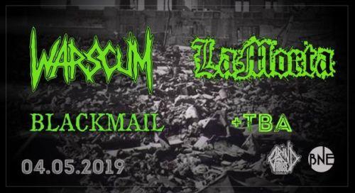 Концерт на Warscum и LaМоrta в София