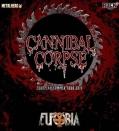 Eufobia на сцената с Cannibal Corpse в Румъния