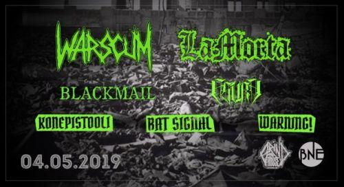Warscum и LaМоrta с концерт в София
