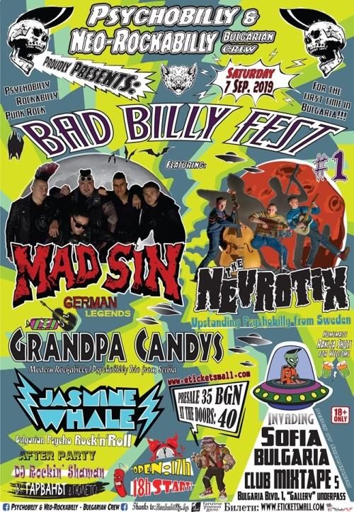 Bad Billy Fest 2019