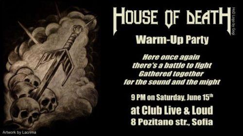 Подгряващо парти пред концерта на Manowar