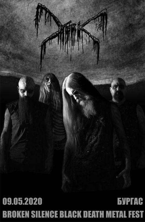 Mork на Broken Silence Black Death Metal Fest 2020 в Бургас