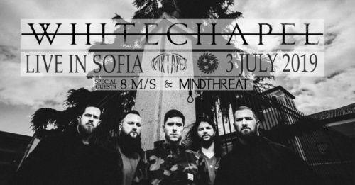 Whitechapel с концерт в София