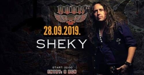 Sheky с авгорски концерт в Rock It