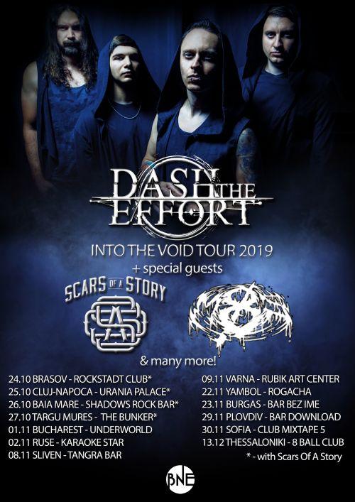 Dash The Effort с турне в България, Румъния и Гърция