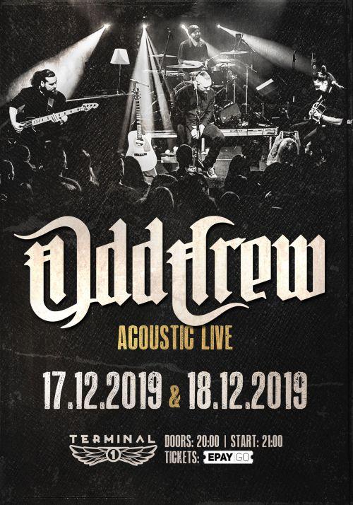 Акустичен концерт на Odd Crew в София