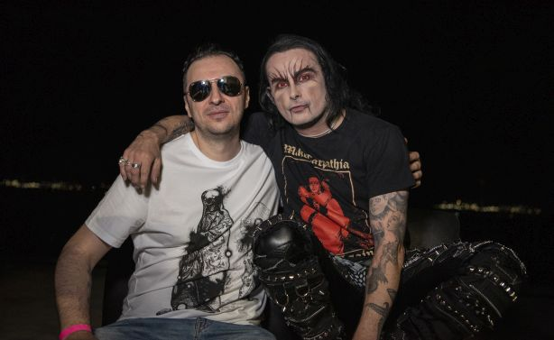 Васко Катинчаров и Dani Filth - Cradle of Filth