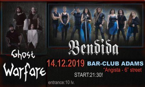 Bendida и Ghost Warfare с концерт в Адамс