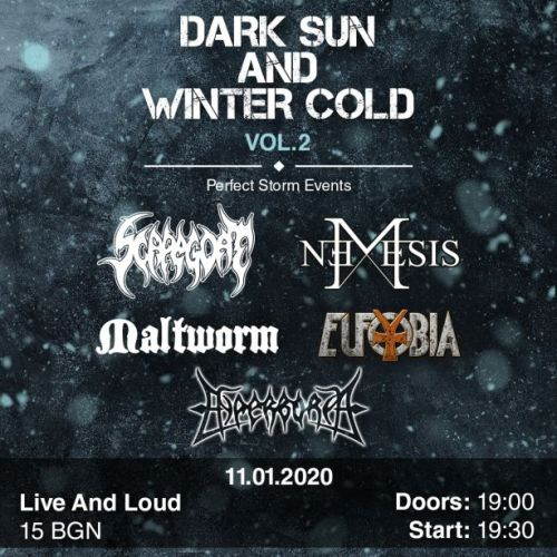 Dark Sun Winter Cold 2020