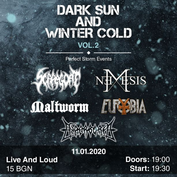 Dark Sun Winter Cold 2020