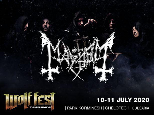 Mayhem на Wolf Fest 2020 в Челопеч