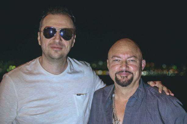 Васко Катинчаров и Geoff Tate